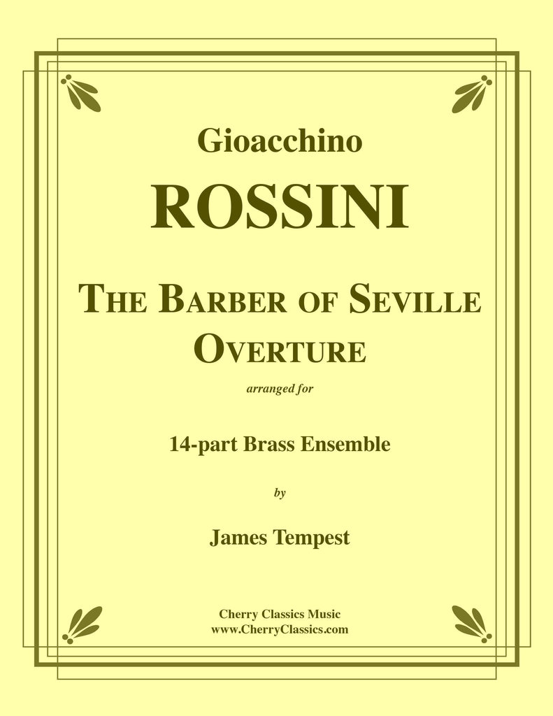 Rossini - The Barber of Seville Overture for 14-part Brass Ensemble - Cherry Classics Music