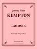 Kempton - Lament for Trombone and String Orchestra