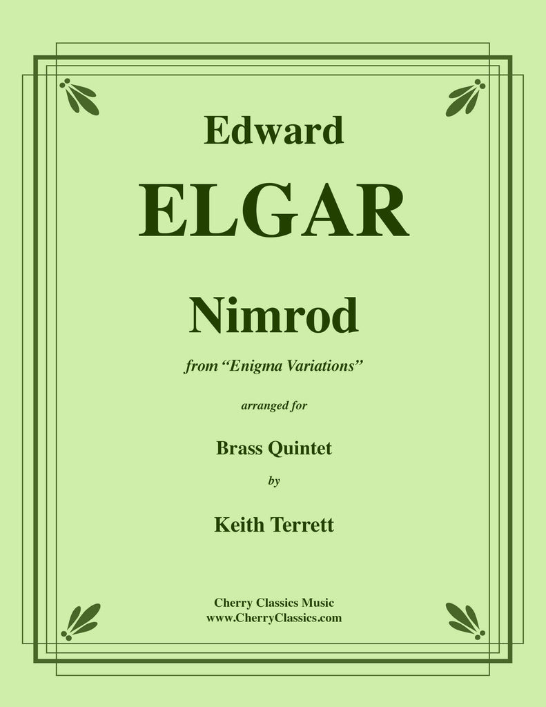 Elgar - Nimrod from Enigma Variations for Brass Quintet - Cherry Classics Music