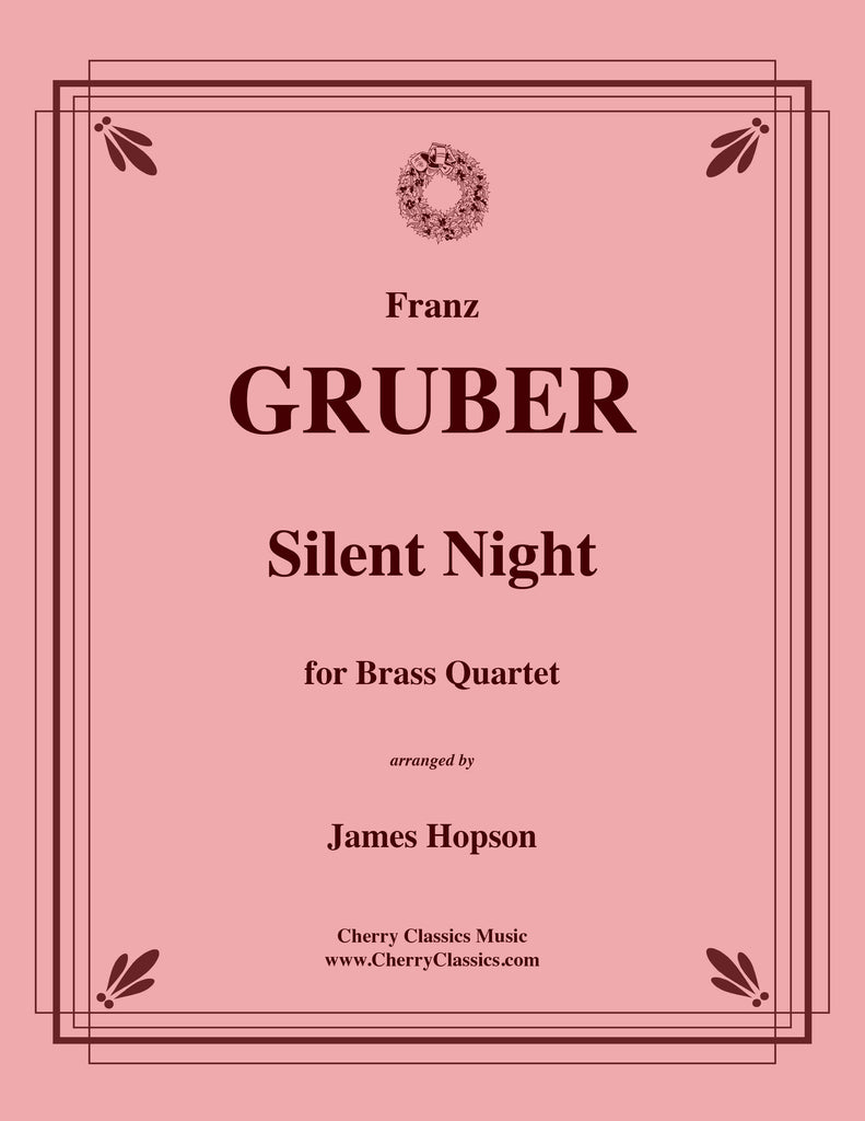 Gruber - Silent Night for Brass Quartet - Cherry Classics Music