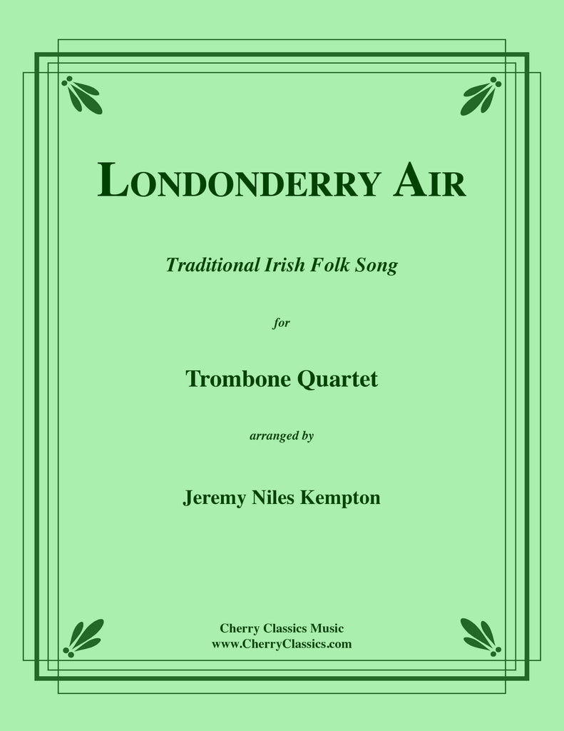 Traditional - Londonderry Air for Trombone Quartet - Cherry Classics Music