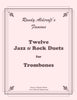 Aldcroft - Twelve Jazz / Rock Duets for Trombones - Cherry Classics Music