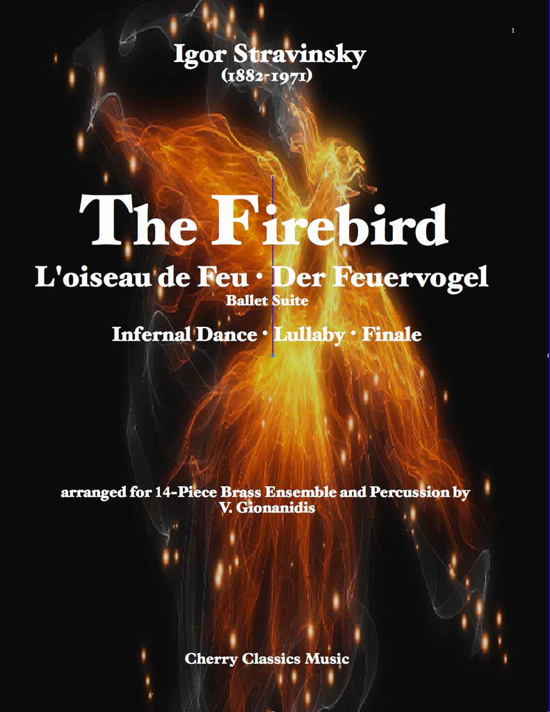 Stravinsky - The Firebird Suite for 14-part Brass Ensemble and Percussion - Cherry Classics Music