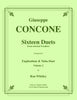 Concone - Sixteen Duets from selected Vocalises for Euphonium and Tuba, volume 2 - Cherry Classics Music
