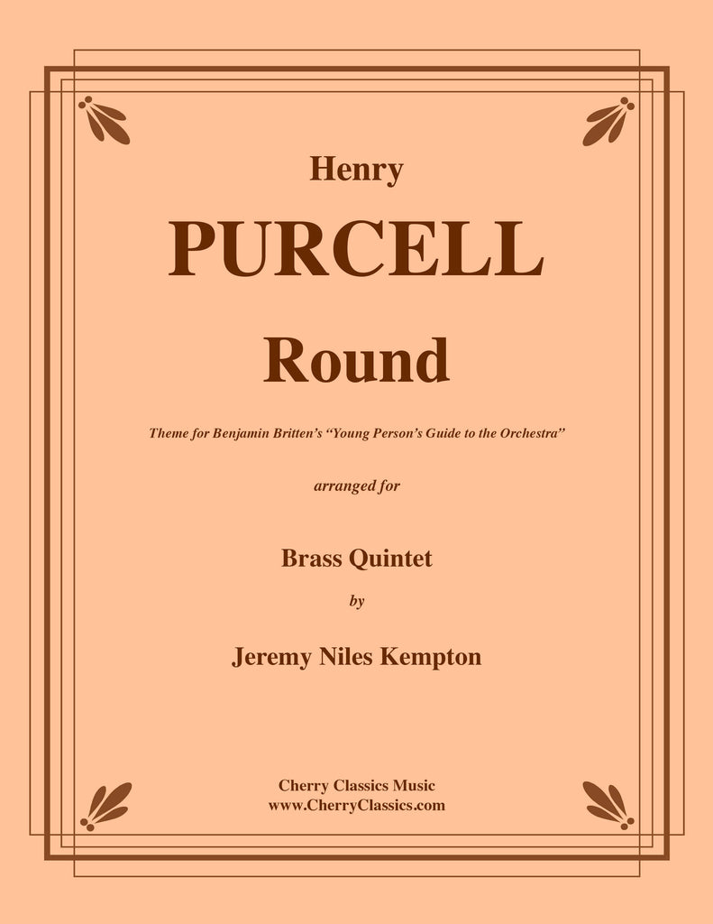 Purcell - Round for Brass Quintet - Cherry Classics Music