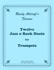 Aldcroft - Twelve Jazz / Rock Duets for Trumpets - Cherry Classics Music