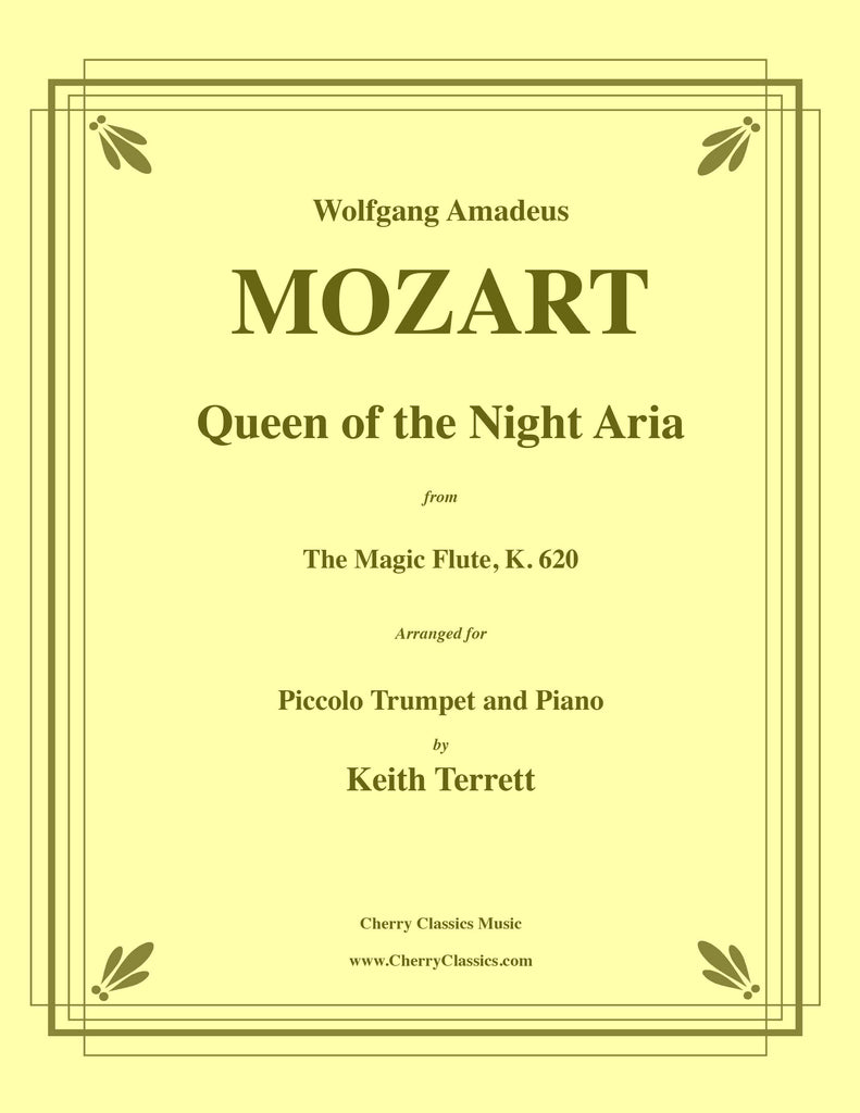 Mozart - Queen of the Night Aria from the Magic Flute for Piccolo Trumpet and Piano - Cherry Classics Music