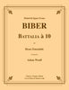 Biber - Battalia á 10 for Brass Ensemble - Cherry Classics Music