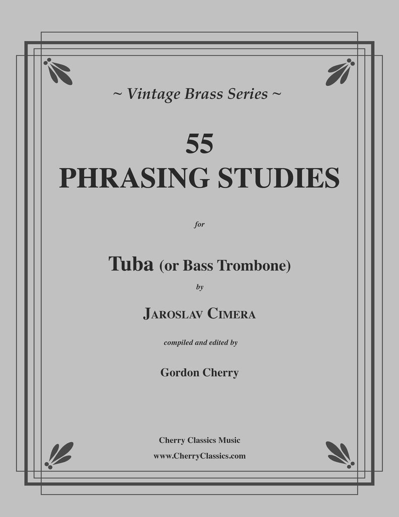 Cimera - 55 Phrasing Studies for Tuba or Bass Trombone - Cherry Classics Music