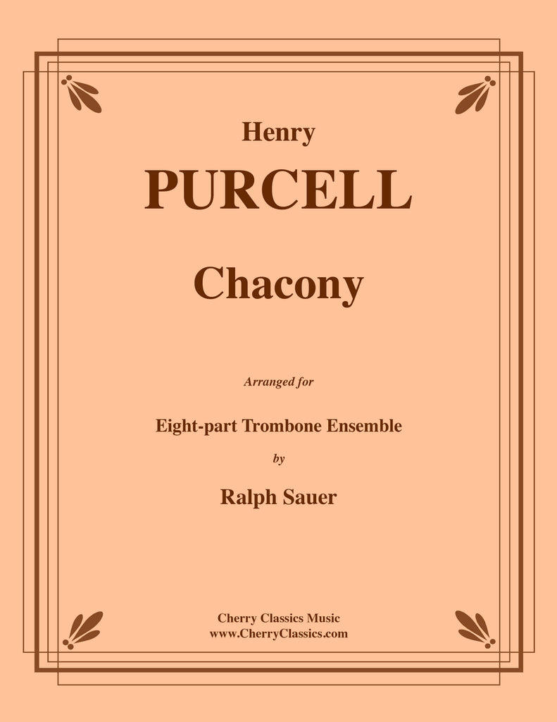 Purcell - Chacony for 8-part Trombone Ensemble - Cherry Classics Music