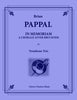 Pappal - In Memoriam: A Chorale After Bruckner for Trombone Trio - Cherry Classics Music