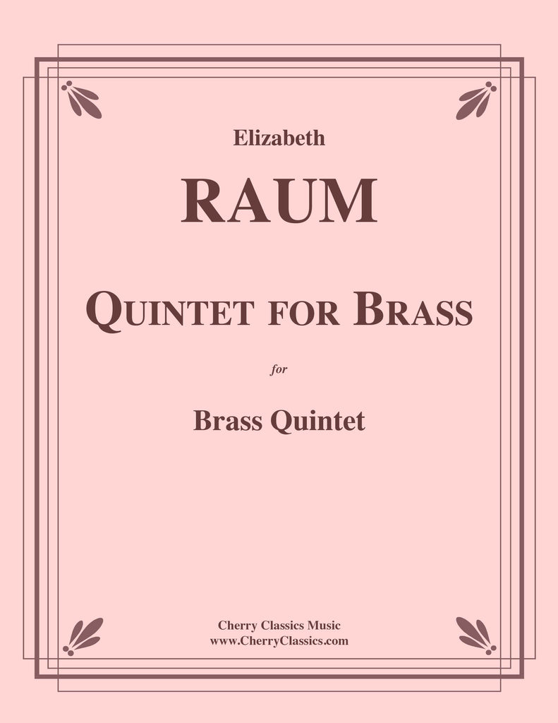 Raum - Quintet for Brass - Cherry Classics Music