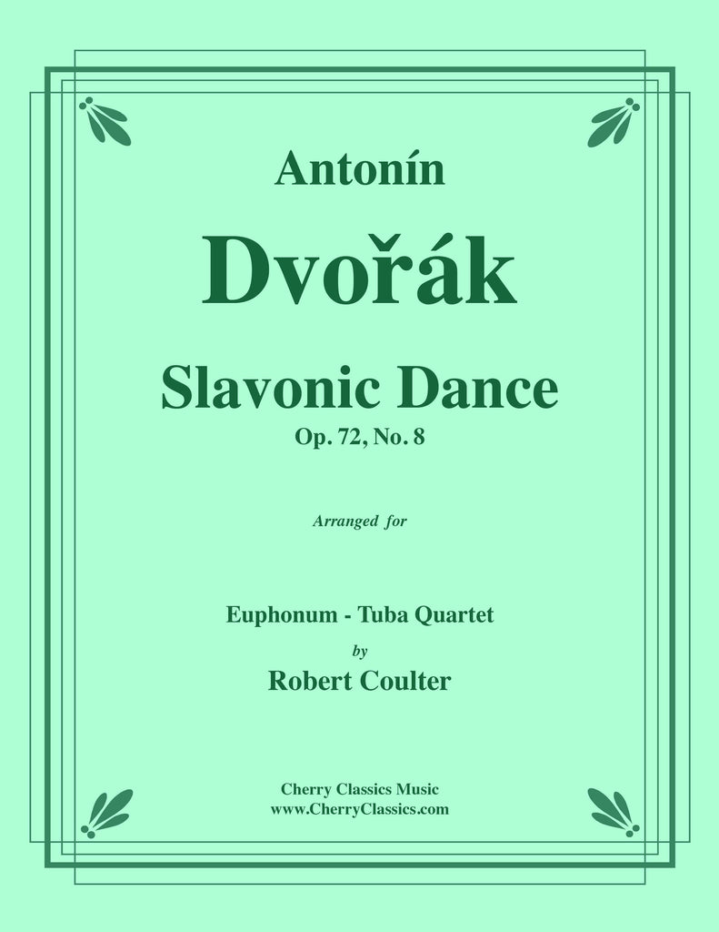 Dvorak - Slavonic Dance, Op. 72, No. 8 for Tuba Quartet - Cherry Classics Music
