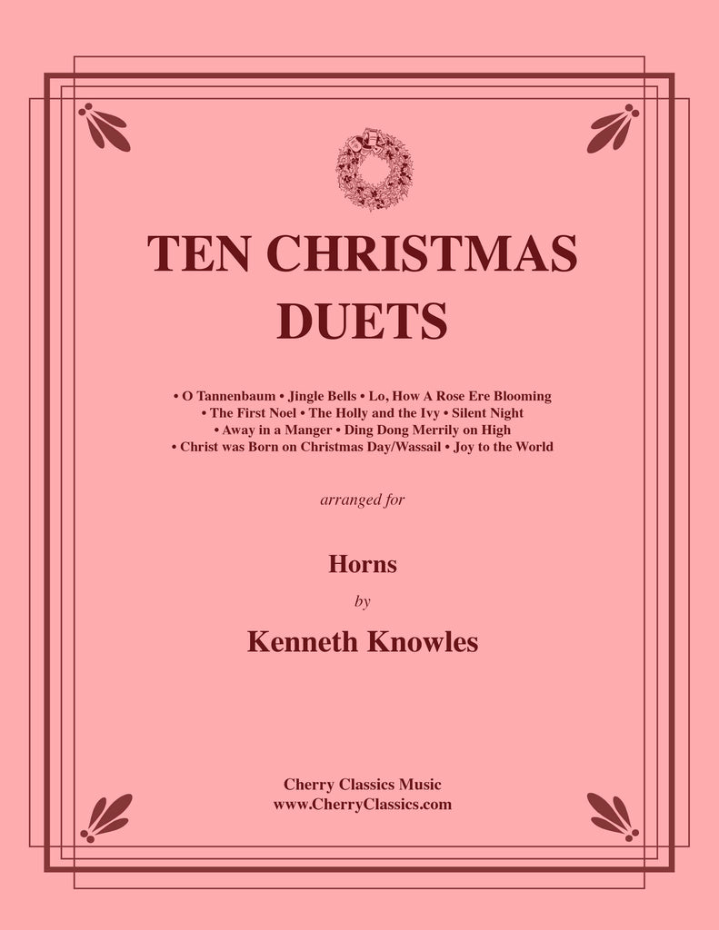 Traditional Christmas - Ten Christmas Duets for Horns - Cherry Classics Music