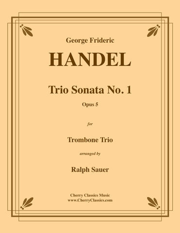 Handel - Trio Sonata No. 1 Op. 5 for Euphonium Trio