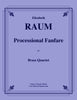 Raum - Processional Fanfare for Brass Quartet