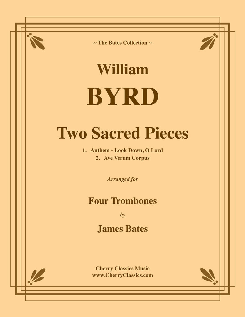 Byrd - Two Sacred Pieces for Four Trombones