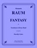 Raum - Fantasy for Trombone and Brass Band