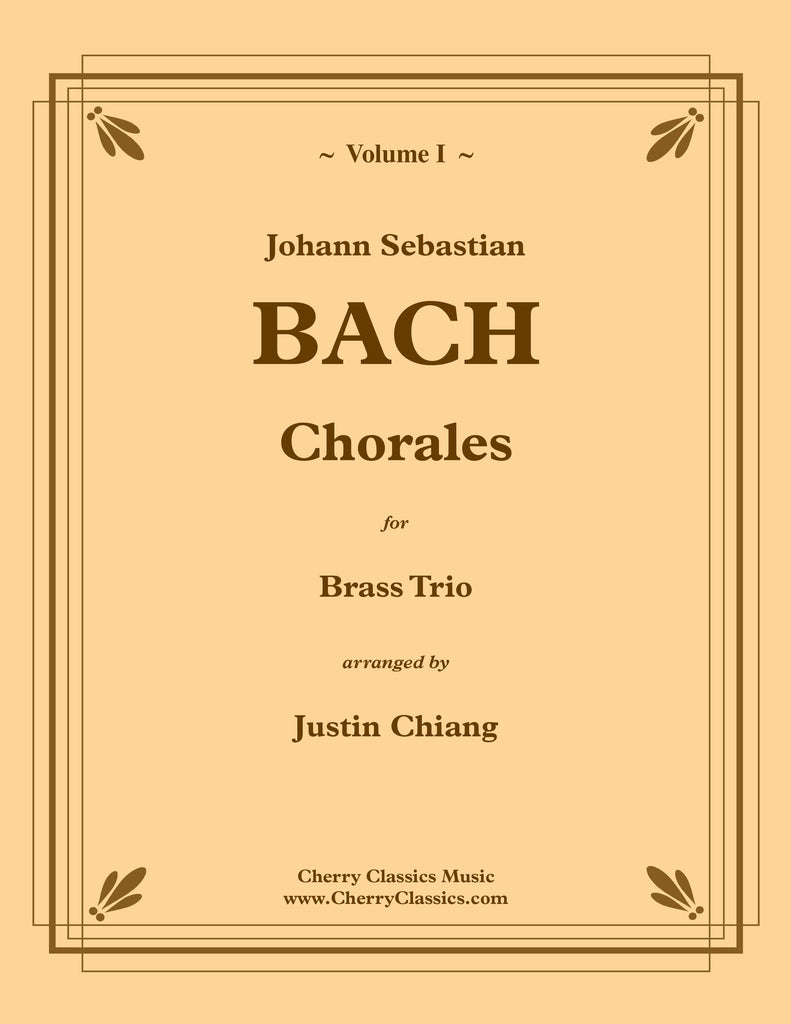 Bach - Chorales for Brass Trio, Volume I