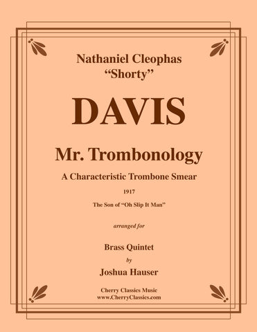 Davis - Miss Trombonism for Trombone and Piano