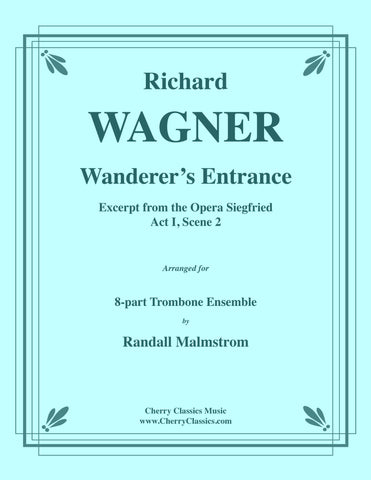 Traditional - Away In A Manger for 5-part Trombone Ensemble