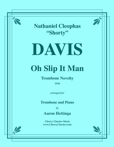 Davis - Mr. Trombonology for Trombone and Piano