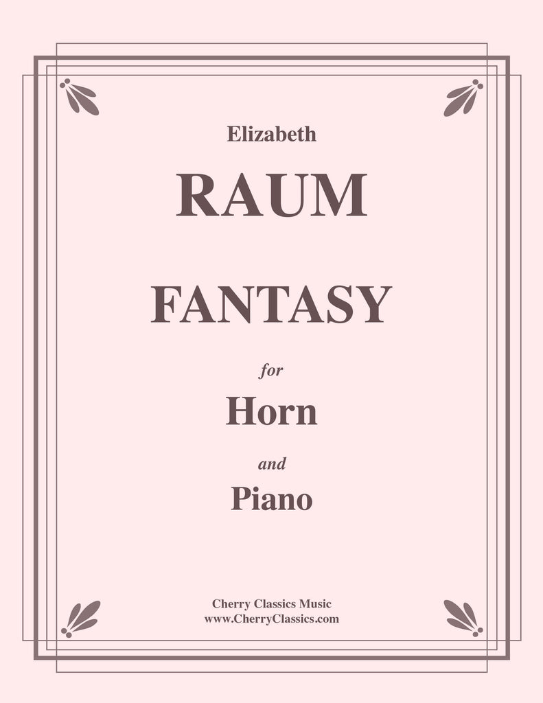 Raum - Fantasy for Horn and Piano