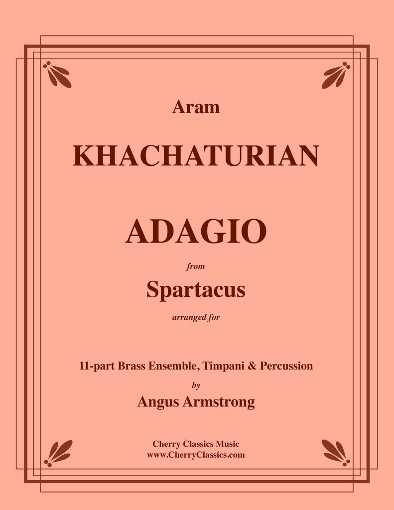 Khachaturian - Adagio from Spartacus for Brass Ensemble, Timpani & Percussion
