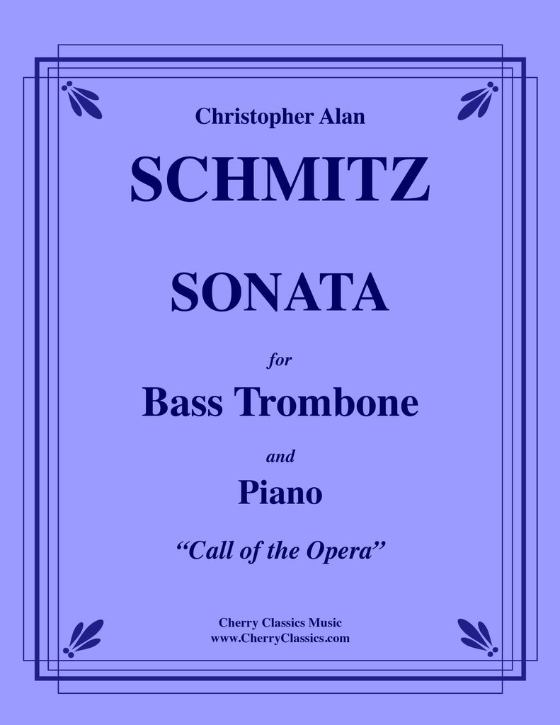 Schmitz - Sonata for Bass Trombone and Piano