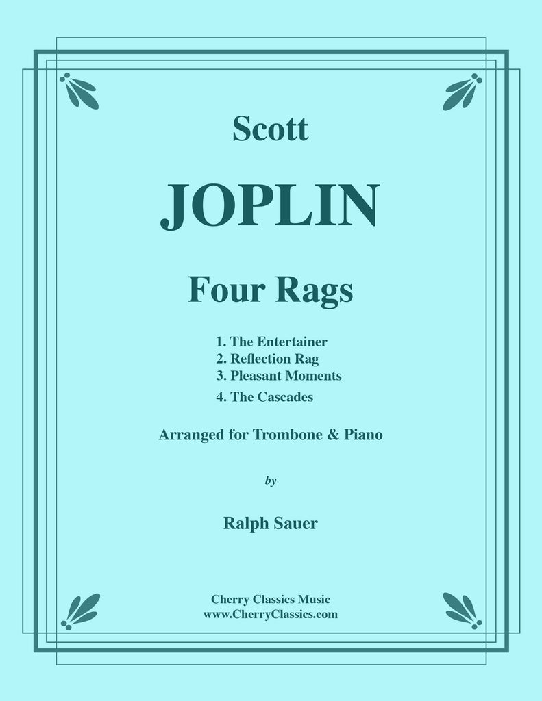 Joplin - Four Rags for Trombone and Piano