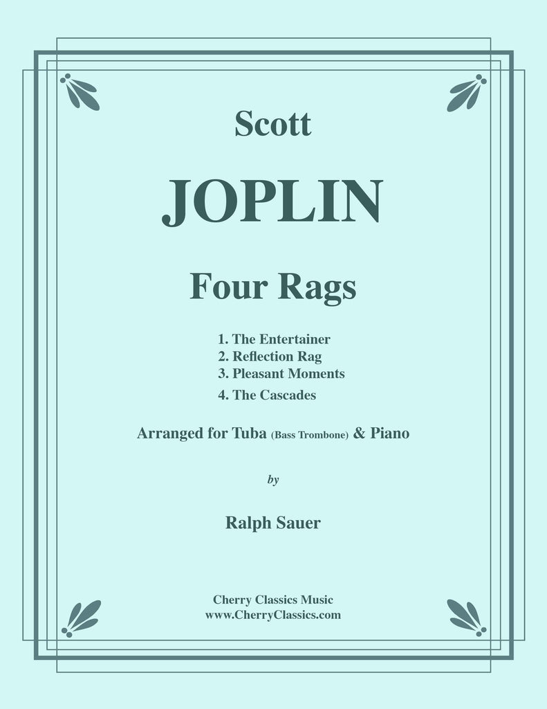 Joplin - Four Rags for Tuba (Bass Trombone) and Piano