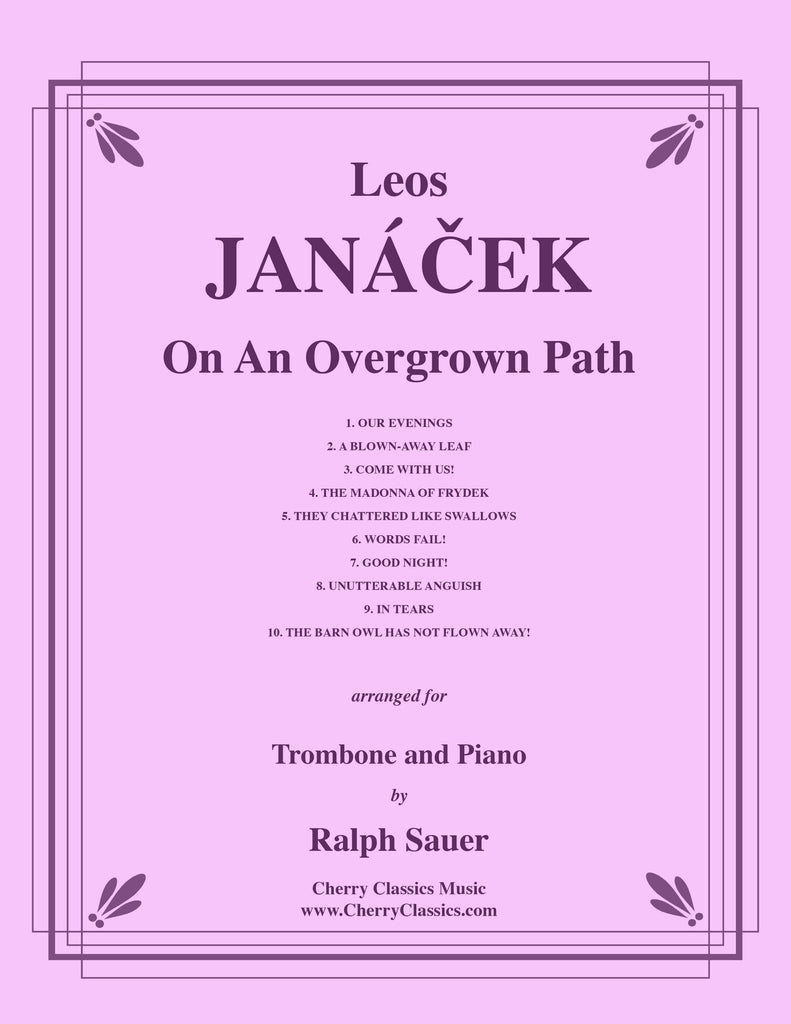 Janacek - On An Overgrown Path for Trombone and Piano