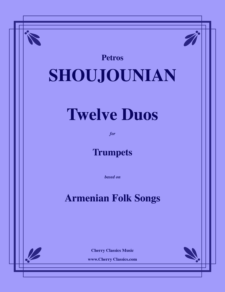 Shoujounian - Twelve Duos for Trumpets