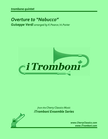 Bach - Prelude and Fugue XXII from WTC Book I for Trombone Quintet by iTromboni