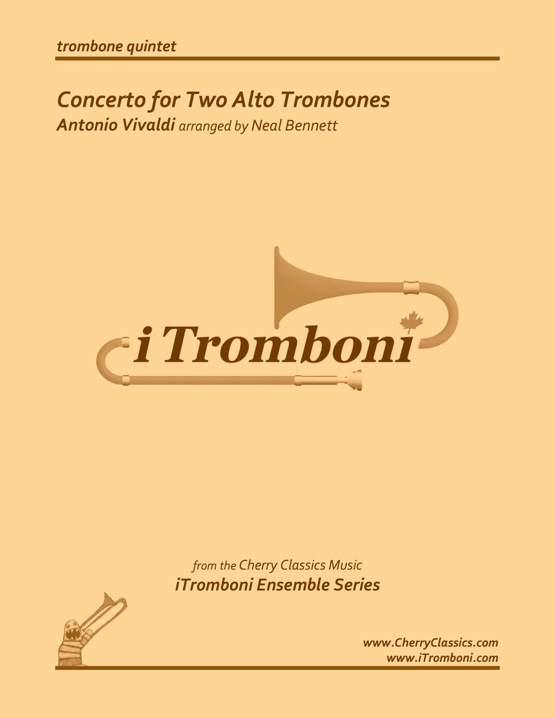 Vivaldi - Concerto for Two Alto Trombones by iTromboni