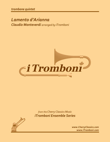 Verdi - Prelude to Act One of La Traviata for 8-part Trombone Ensemble