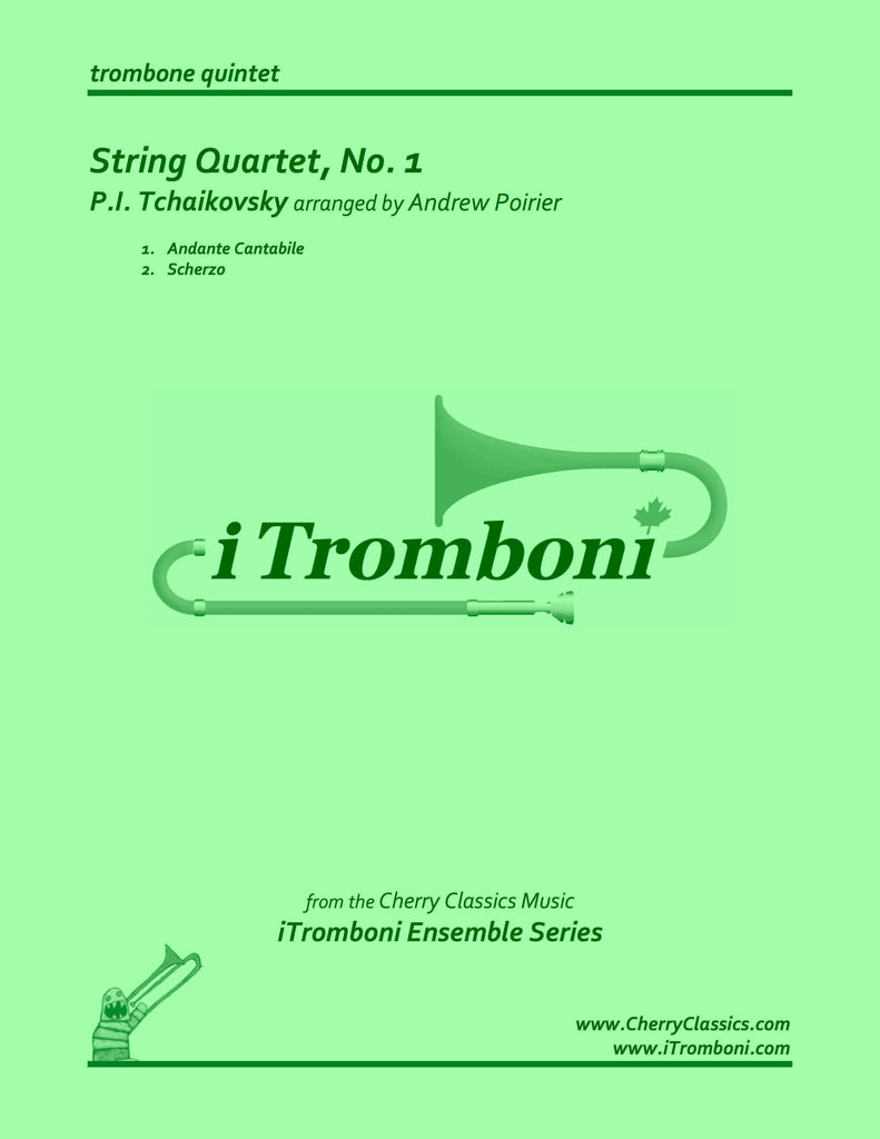 Tchaikovsky - Two Movements from String Quartet No. 1 by iTromboni