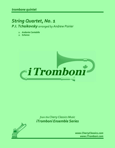 DAMBROSIO - Tip of the Spear for 8-part Trombone Ensemble
