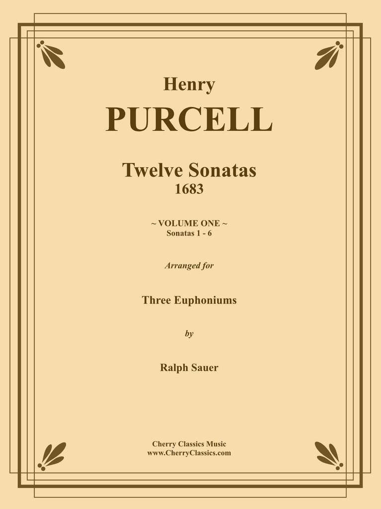 Purcell - Sonatas 1-6 for Three Euphoniums - Volume 1