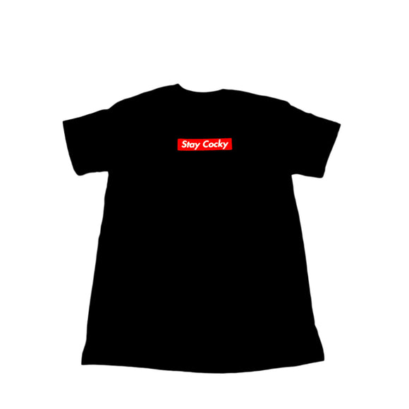 Cocky Socks Box Logo Shirt - Black