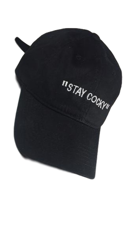 "Adjustable ""Cocky Socks"" Stay Cocky Hat"