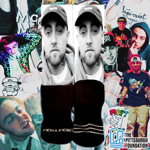 RIP Mac Miller - Charity Socks