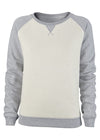 Ruby Dreams 2 Tone Grey Sweatshirt