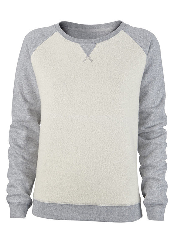 Humanity Ruby Dreams 2 Tone Grey Sweatshirt - humanity : style with a conscience