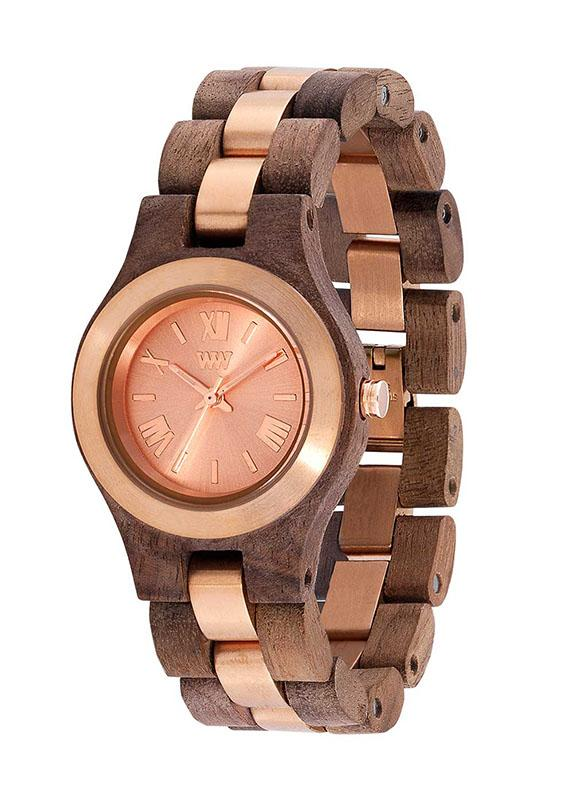 WeWOOD CRISS ME NUT ROUGH ROSE - humanity : style with a conscience