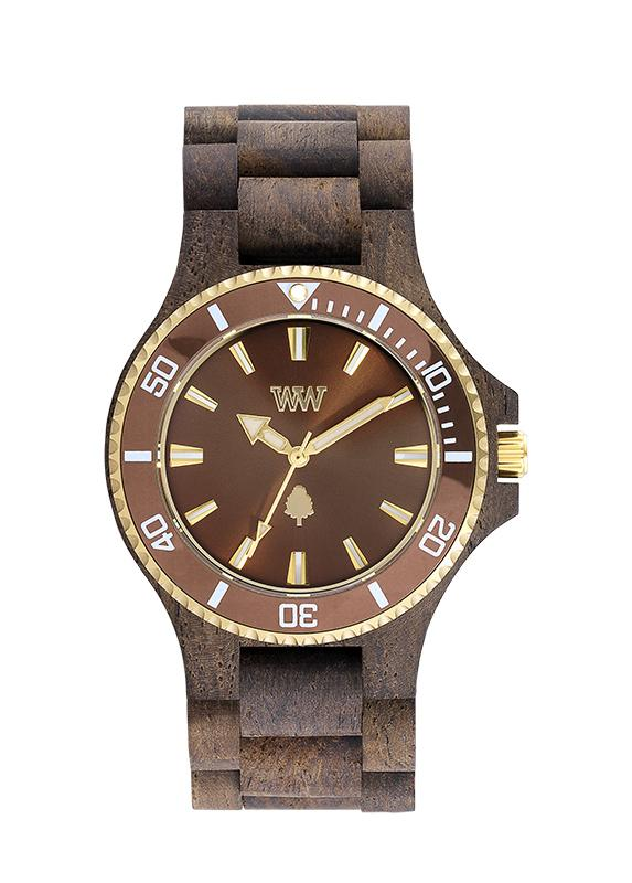 WeWOOD DATE MB CHOCO ROUGH - humanity : style with a conscience