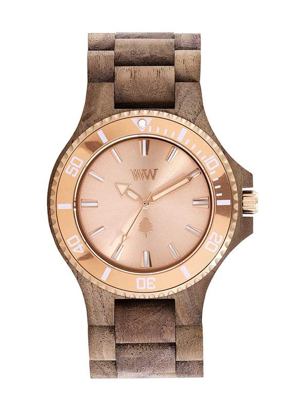WeWOOD DATE MB NUT ROUGH ROSE - humanity : style with a conscience