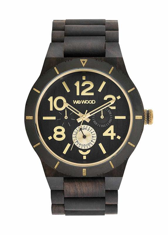 WeWOOD KARDO MB BLACK ROUGH GOLD - humanity : style with a conscience