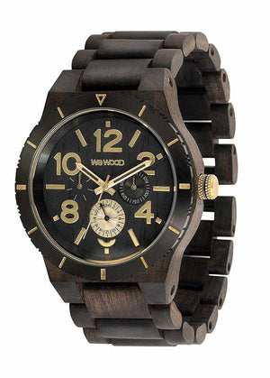 WeWOOD KARDO MB BLACK ROUGH GOLD