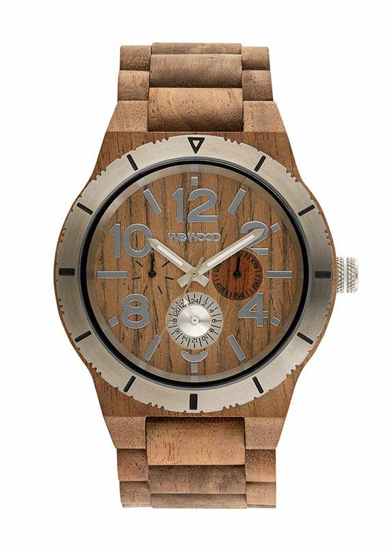 WeWOOD KARDO MB NUT ROUGH SILVER - humanity : style with a conscience